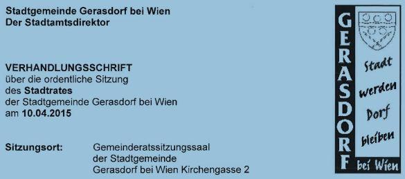 Screenshot Stadtrat
