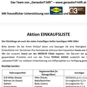 2015-11-14 Ger Stadt Ankuendigung Gerasdorf-hilft
